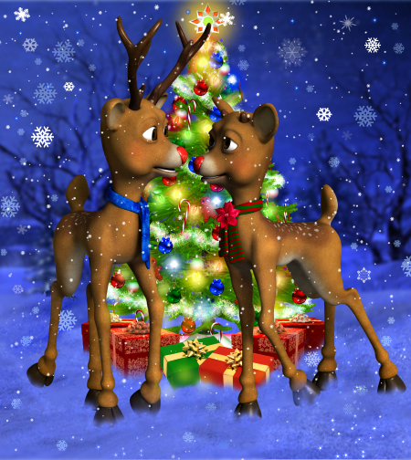 Little Reindeer Graphics