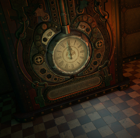 About Time Steampunk Graphics