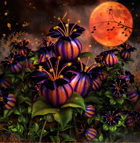 Witch Flower Graphics