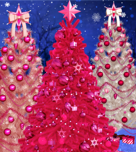 Christmas Sparkle Tree Graphics