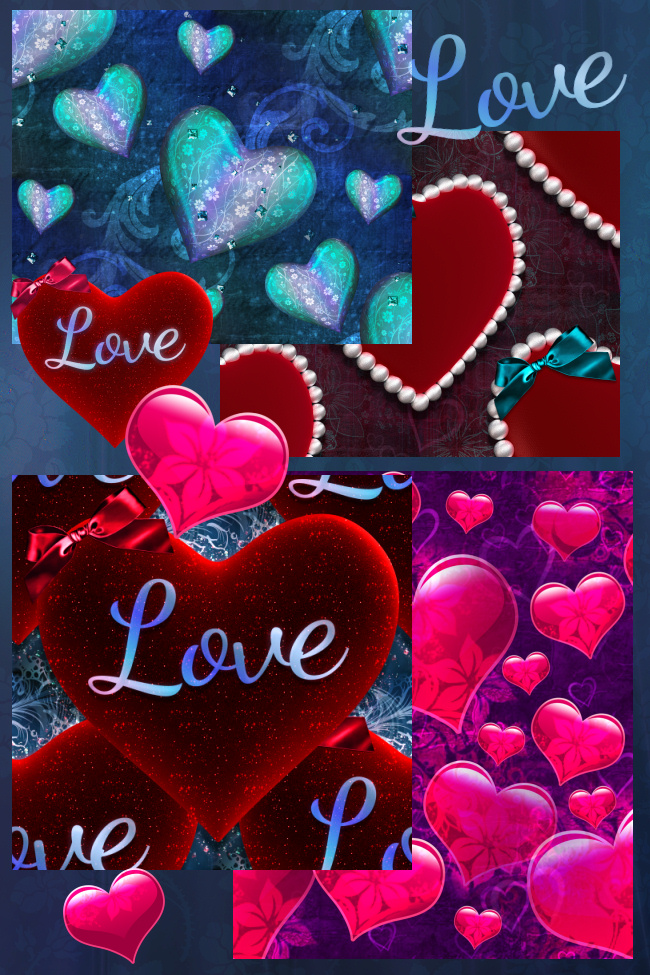 Beautiful Valentine Background Graphics