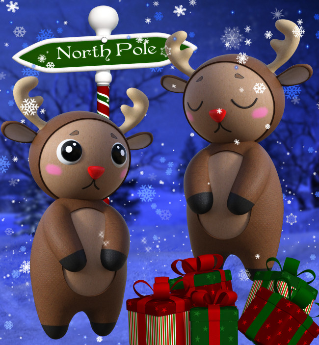 Christmas Sleigh Graphics in the PNG format