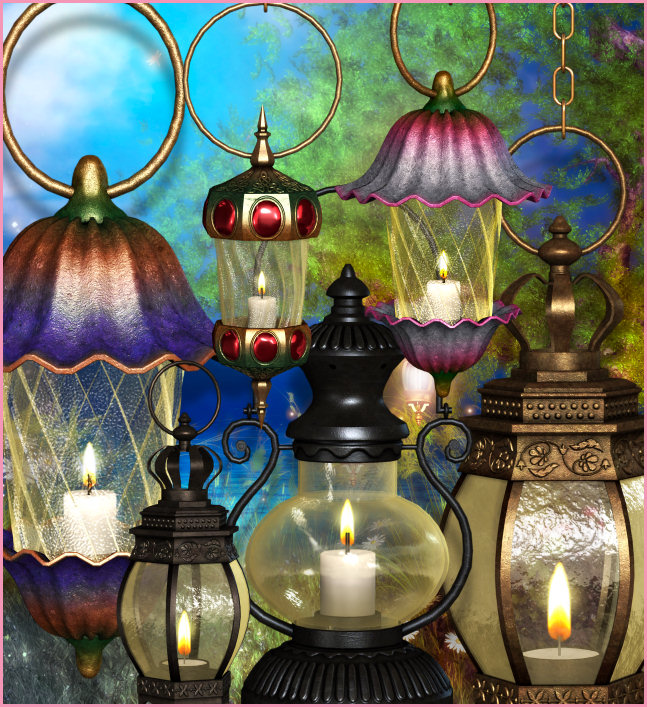 Fairy Lamp Graphics