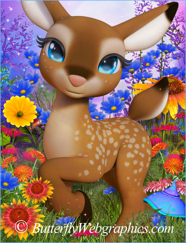 Little Darling Deer Graphics