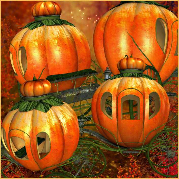 Pumpkin Carriage Graphics Graphics