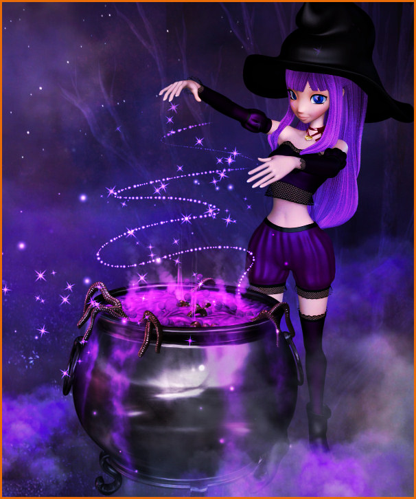 Star Witch Graphics