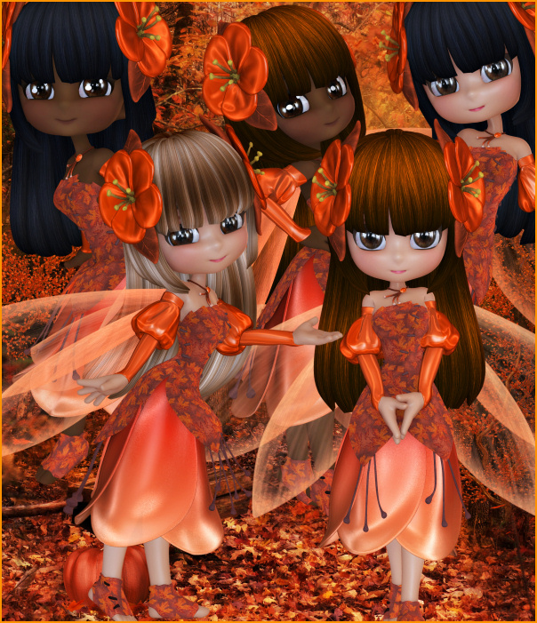 Autumn Blossom Fairy images