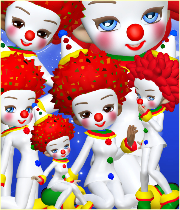 Birthday Clown Graphics for your special occasion
