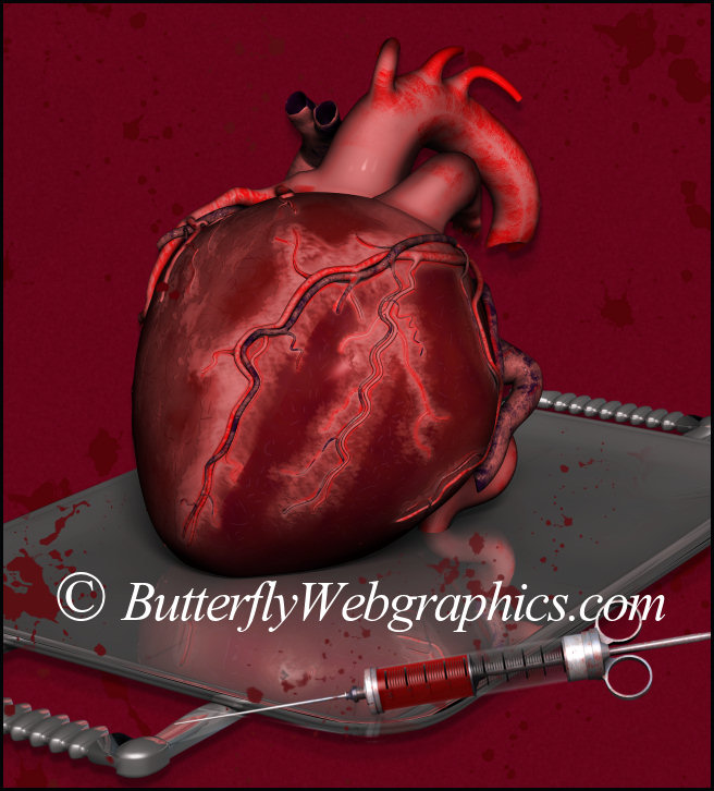 Bloody Valentine Heart Graphics
