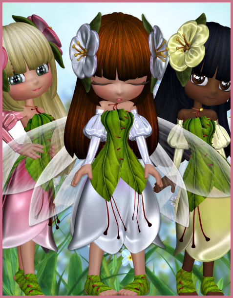 Blossom Fairy tubes and wings