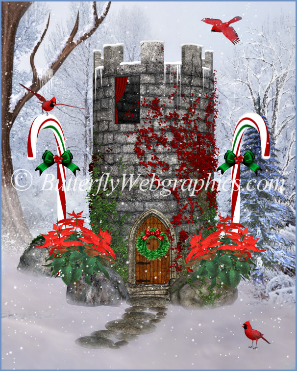 Fairy Tale Tower Graphics