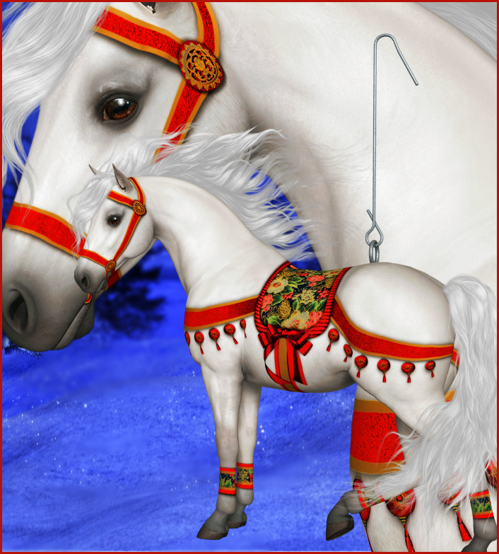 Christmas Horse Graphics