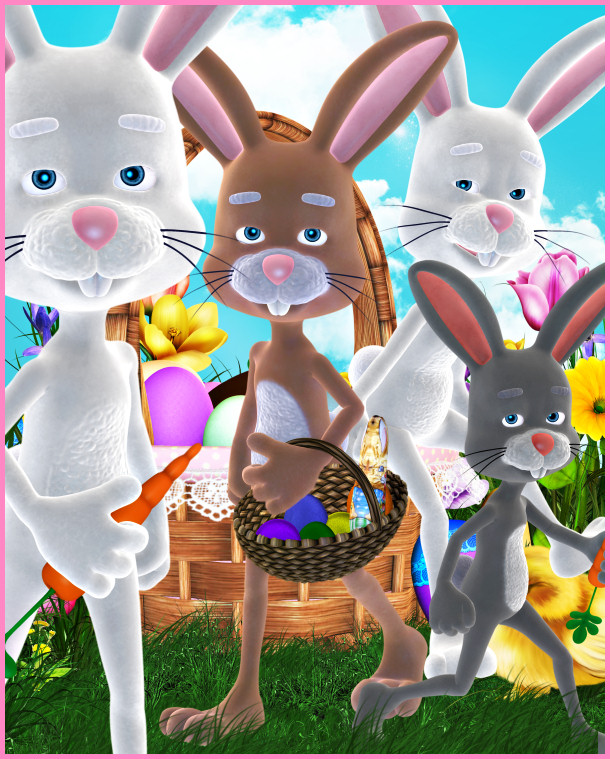 Peter Cottontail Tubes