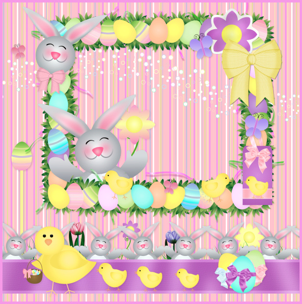 Easter and spring Tubes clipart