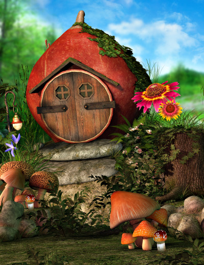 Fairy Meadow Backgrounds Two