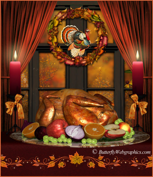 Fall Harvest Background Graphics