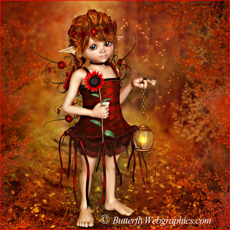 Fall Bounty Fairies --fall and Thanksgiving images