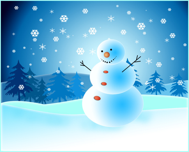 Frosty Art Kit winter Snowman Winter graphics in the PNG format