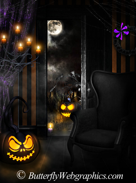Halloween Scenes horror backgrounds
