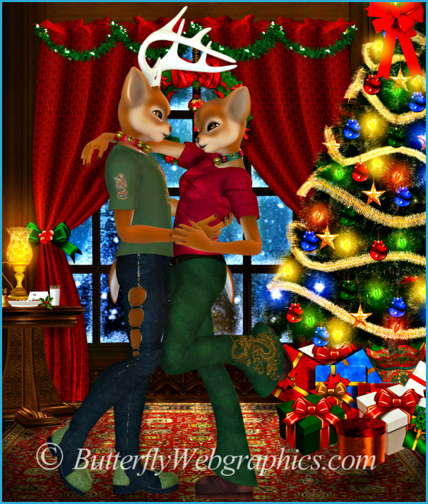 Christmas Romance Graphics