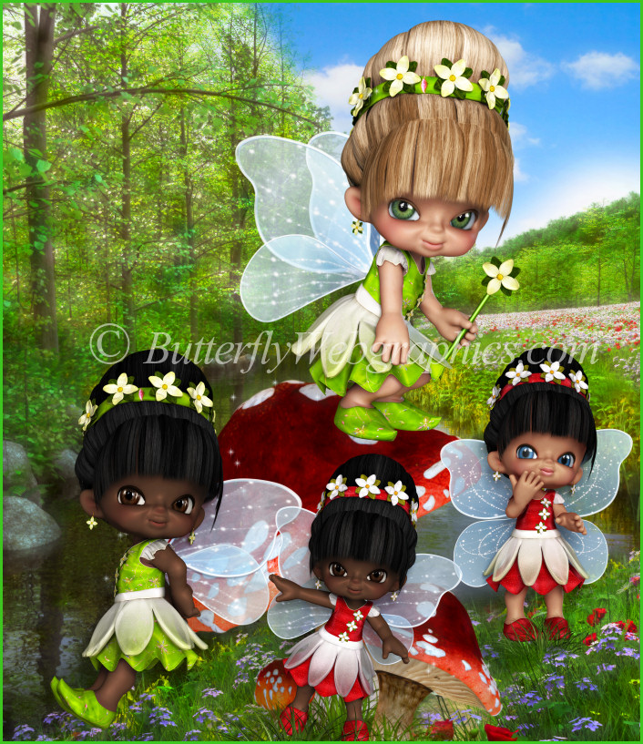 Little Spring Fairy graphics