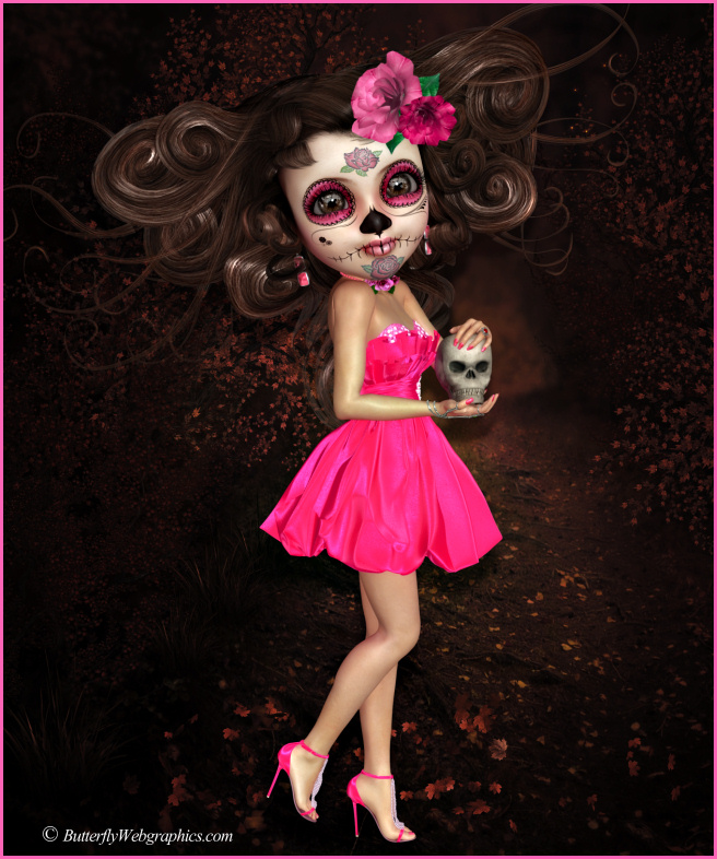 Little Sugar Doll Graphic 4