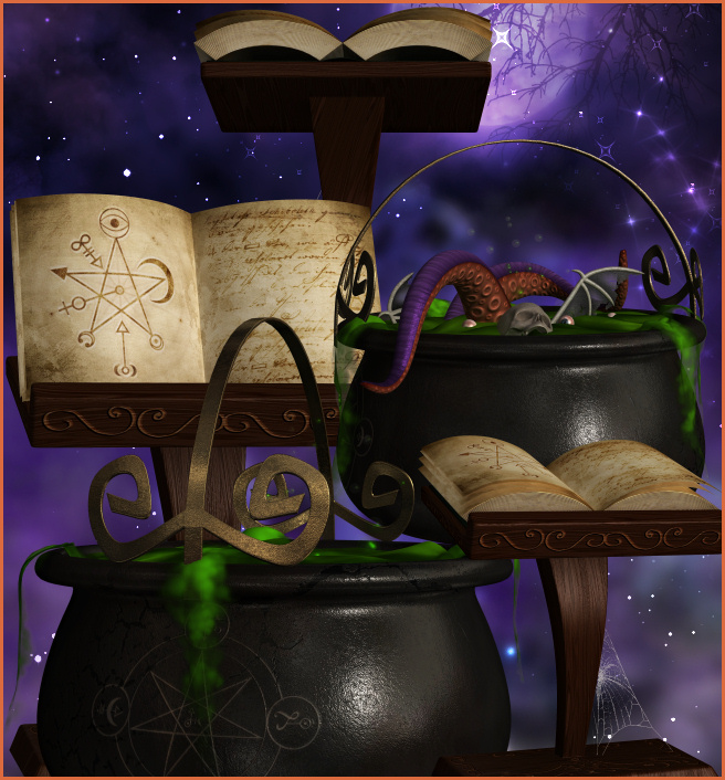 Magic Cauldron Graphics