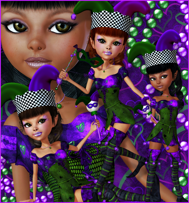 Mardi Gras Parade Graphics