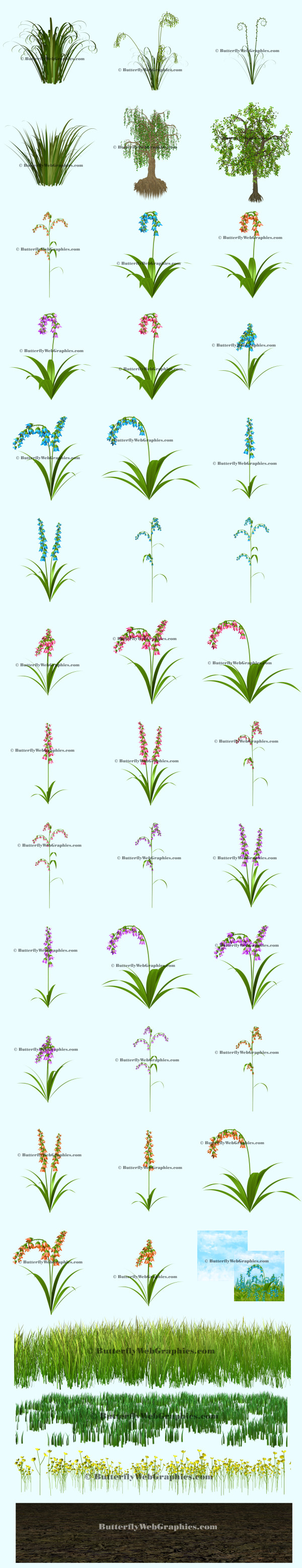 spring background clipart