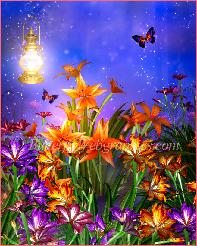 Fairy Dreams Summer Backgrounds