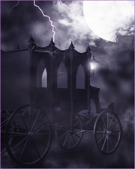 Vampire Carriage Graphics