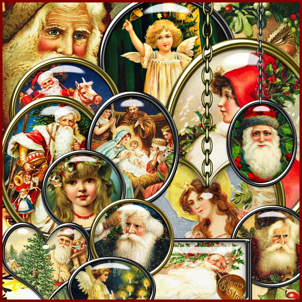 Victorian Christmas Tokens