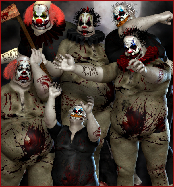 Wicked clown Graphics