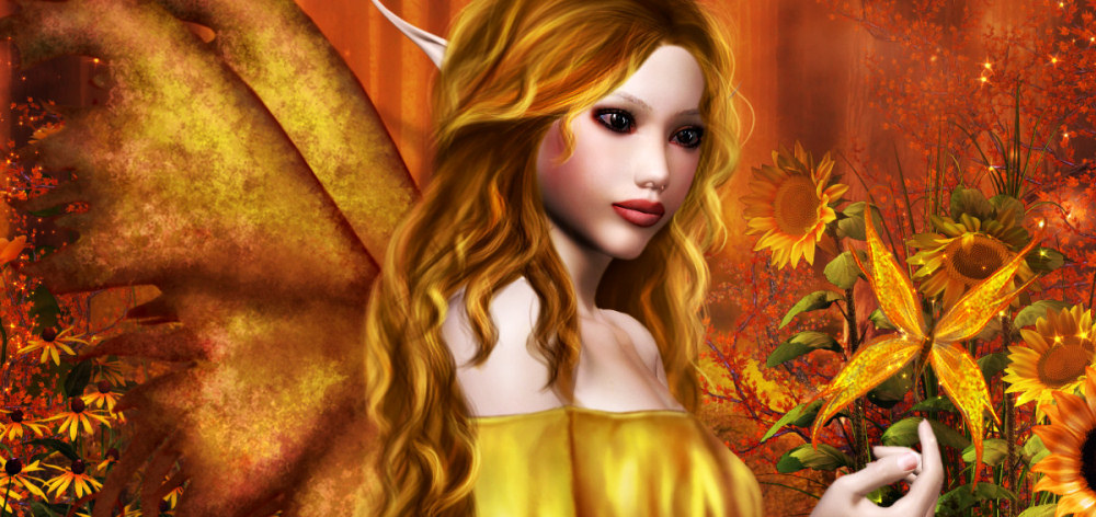 Painted Fairy Graphics 2