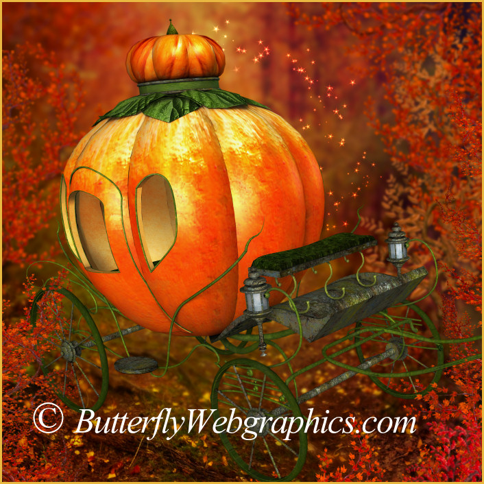 Pumpkin Carriage Graphics