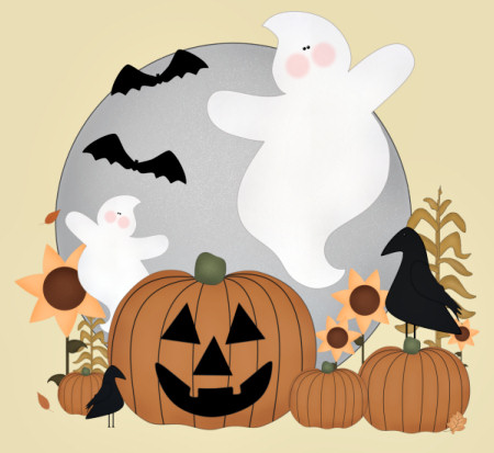 Country Halloween Graphics