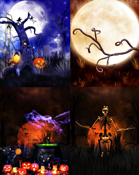Eerie Halloween Backgrounds
