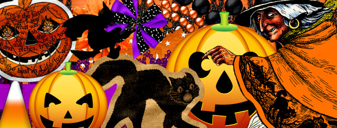 Halloween Scrapbook Kit Two