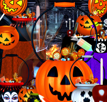 Halloween Candy Graphics