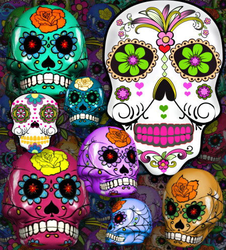 Sugar Skull Graphics