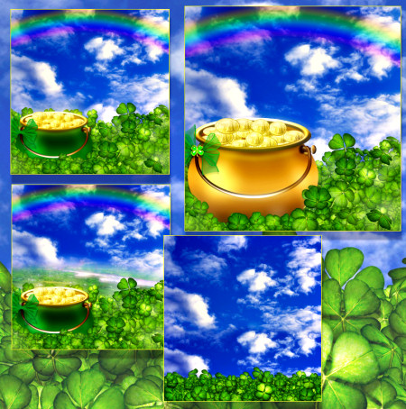 Lucky Irish Backgrounds