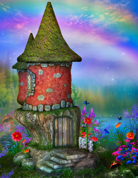 Fairy Castle Backgrounds
