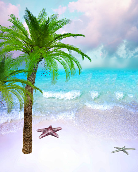 Beach Scene Graphics