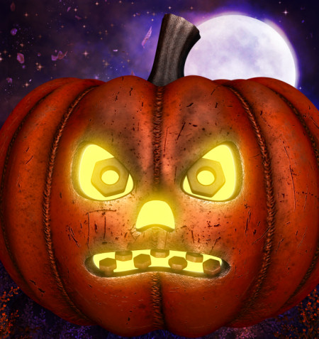 Metal Pumpkin Graphics
