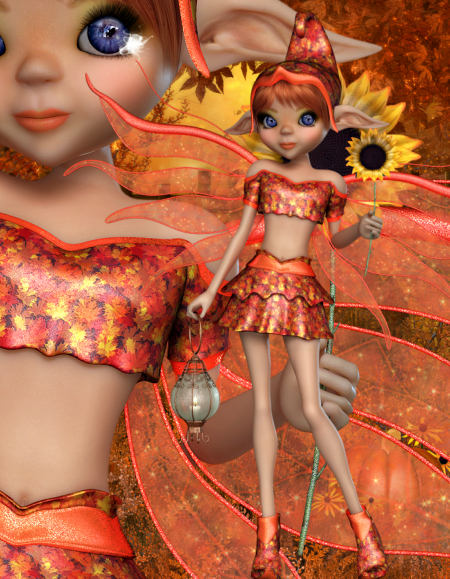 Sweet Fall Fairies