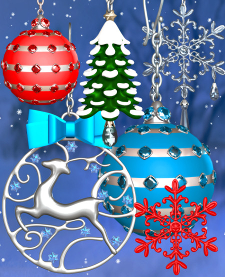 Christmas Jewel Graphics