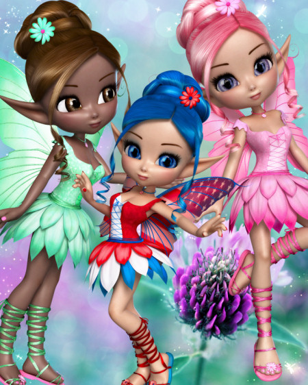 Sweet Summer Fairy Graphics